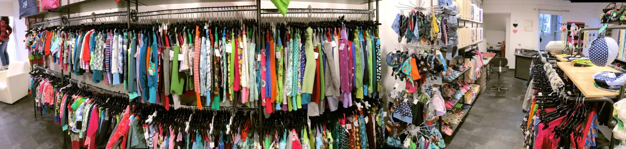 Panorama der Handmade-Kleidung